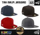 New Era NEWERA 59Fifty Black Fitted Baseball Cap Hat Plain 1