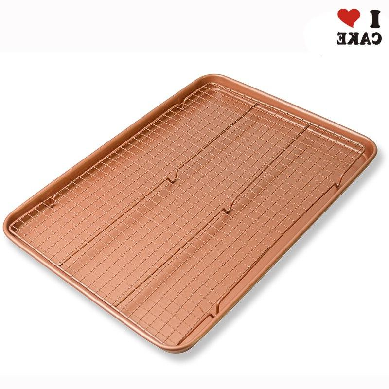 Non-Stick Cookie Tray <font><b>inch</b></font> Baking pan for ,cookie and 1pcs tools