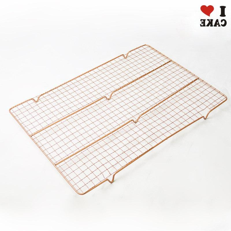 Non-Stick Cookie Tray <font><b>18</b></font> <font><b>inch</b></font> <font><b>Rectangular</b></font> gold Baking ,cookie ,roasted tools