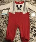 NWT BABY BOY 1 PIECE DISNEY MICKEY MOUSE OUTFIT SIZE 3-6 MON