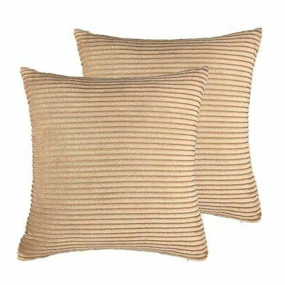 pillow cover corduroy velvet euro cushion case