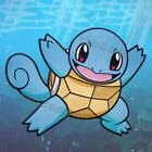 "Pokemon Squirtle Large Patch IRON ON 11"" x 8.7"" and 9"" x 7.1"