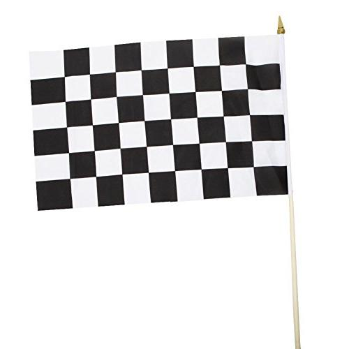 polyester racing flags 1 dozen