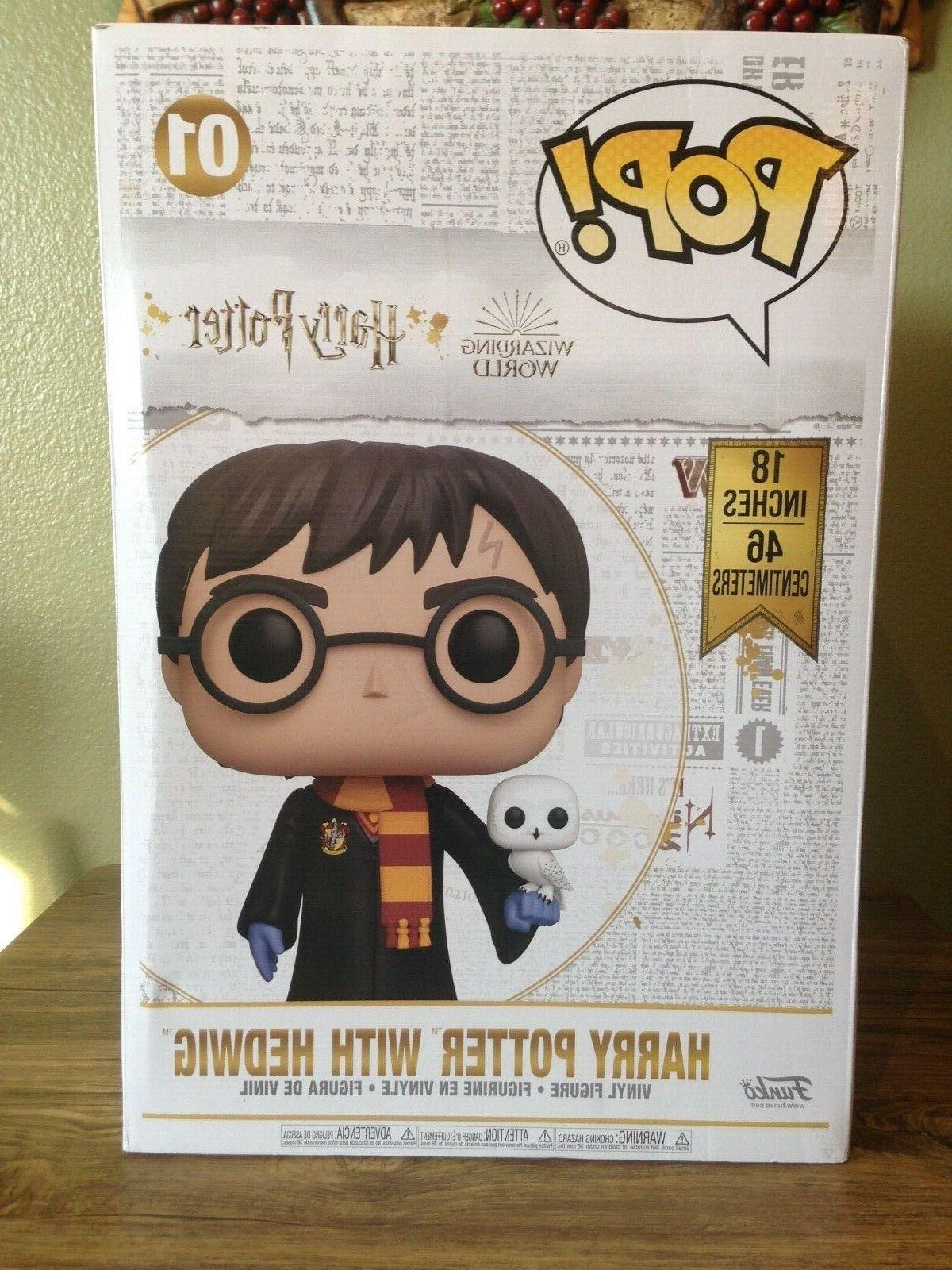 pop 18 inch harry potter with hedwig