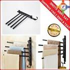 Portable Outdoor Pool Towel Rack Holder Stand Deck Spa Patio