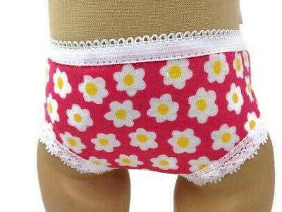 Print Panties-5 18 Doll Underwear