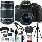 Canon Rebel T6i EOS DSLR Wi-Fi Camera 24.2MP 1080p EFS 18-55