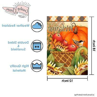 Seasonal of Inch- Double Sided Flag Free A...
