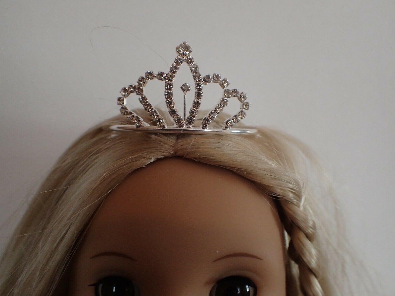 Small Rhinestone Tiara 18 inch Dolls