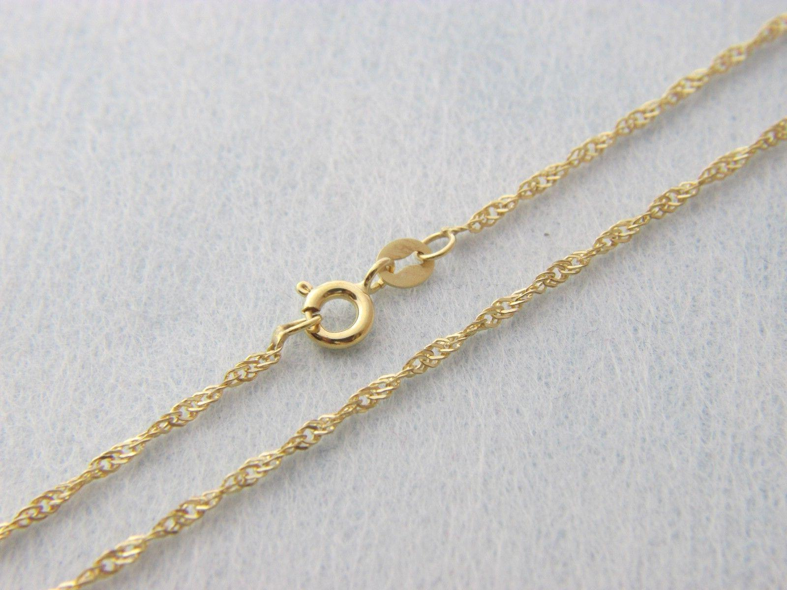 Box Chain necklace 16 inch, , 20