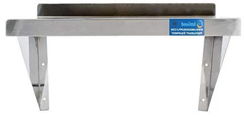 AmGood Shelf Commercial Grade, Wall Mount, NSF Certified