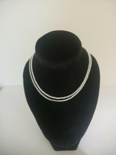 sterling silver 1 4 mm box chain
