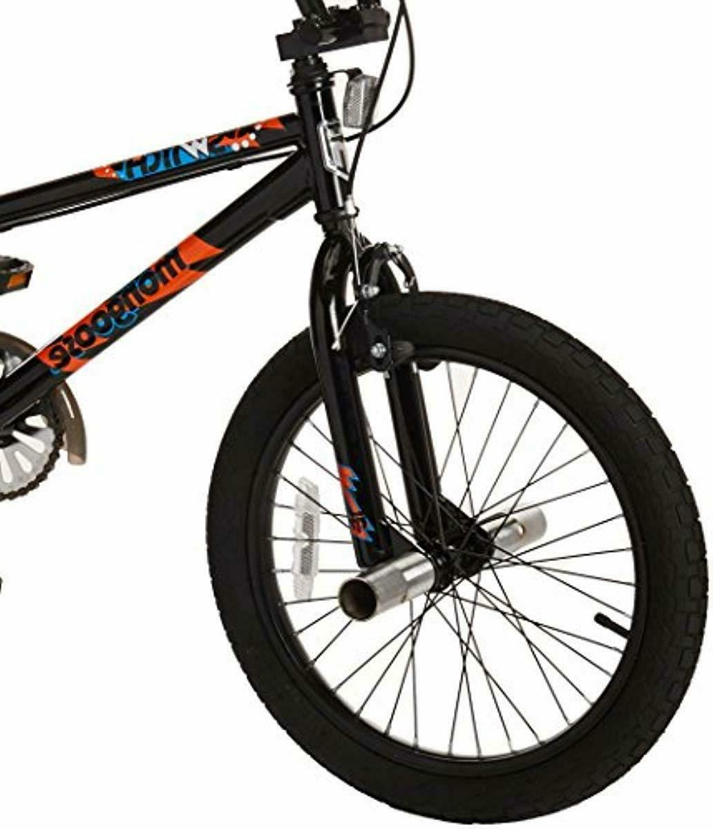 Mongoose BMX Bike with Training Wheels, 18-Inch