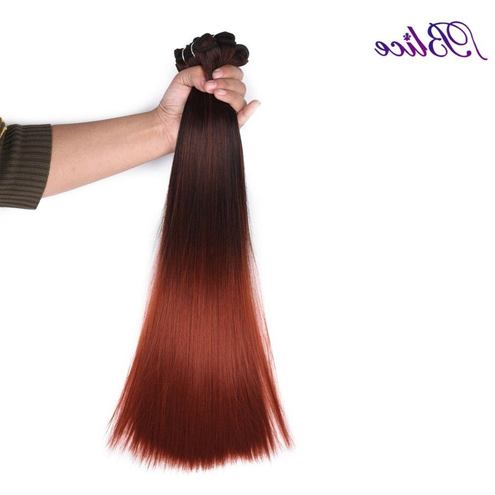 Blice Synthetic <font><b>18</b></font> <font><b>Inches</b></font> #1B/350 Yaki Double Weft Extensions