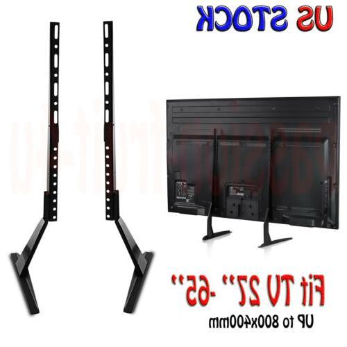 tabletop tv stand base vesa 800x400 pededtal