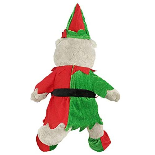 Freebily Teddy Christmas Fits 14-18 Inches Animals Dress up Green & One
