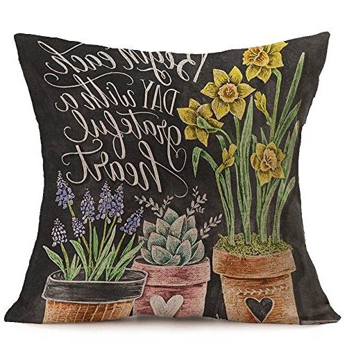 throw pillow case covers pillowcase