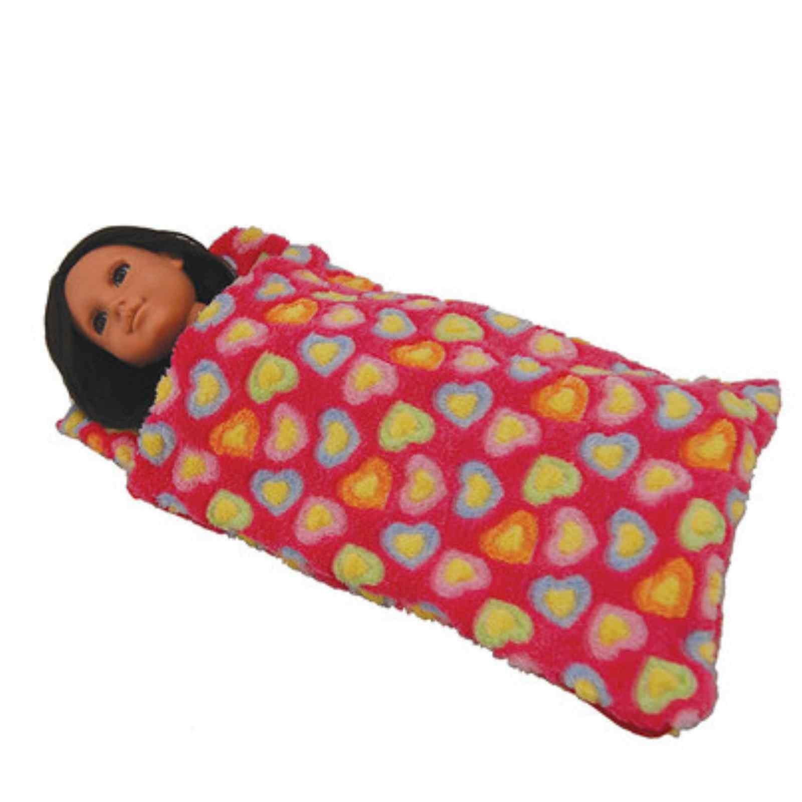 TWO Doll SLEEPING Girl