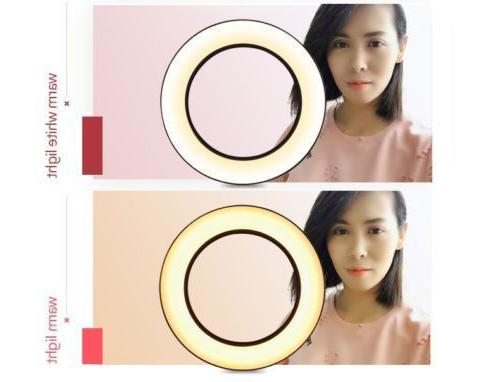 US Dimmable SMD Ring Light Kit Color Filters