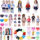 US STOCK 18inch Doll Clothes Accessories For American Girls/