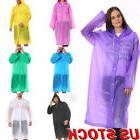 US Stock LightWeight Rain Coat Waterproof Festival Camping H