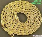 "USA Rope 18K Gold plated Chain Necklace 16"" to 30"", & 2,3.4,"