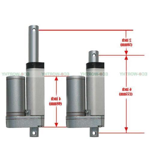 Various 12V Electric Actuator W/ Bracket