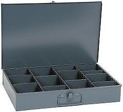 Durham Vertical Adjustable Compartment Small Steel Storage D