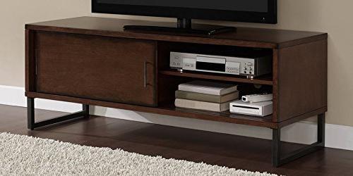 Breckenridge Screen Storage Cabinet with Sliding