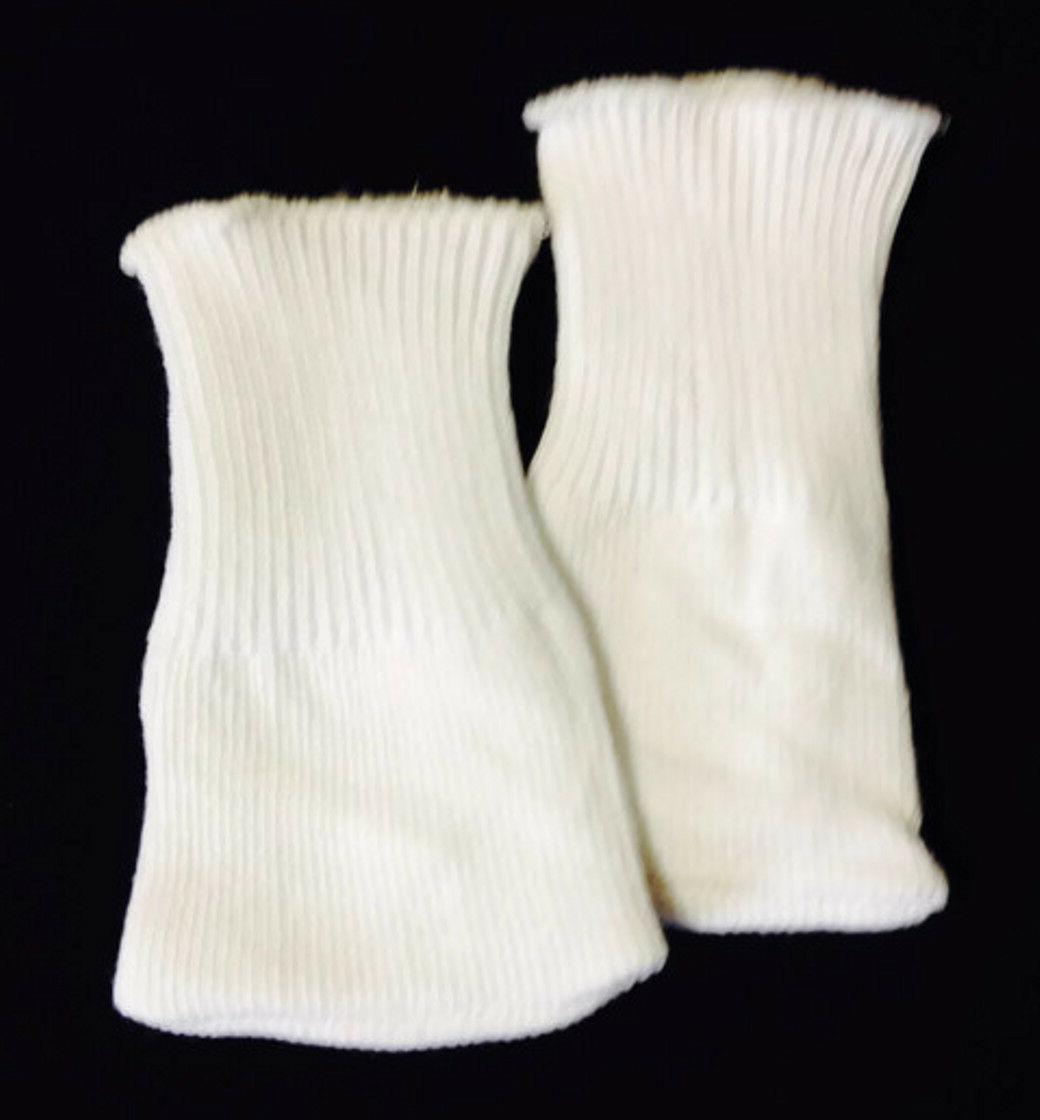 White Knit Sport Socks made for American Girl