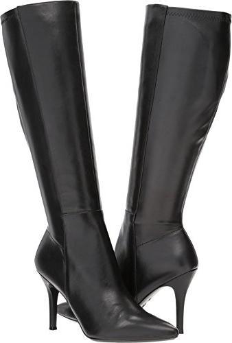 women s fallon black leather 10 5