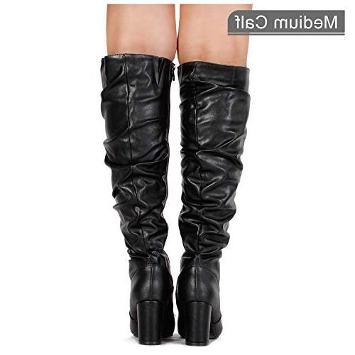 RF Women's Heel Dress PU