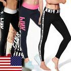 Womens Workout Leggings Sports Yoga Gym Fitness Pants Jumpsu