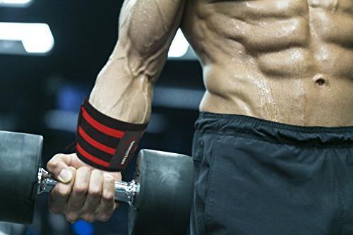 Rip Toned Wrist Thumb Loops Support Men & Women - Crossfit, Powerlifting, Strength Training - Bonus -