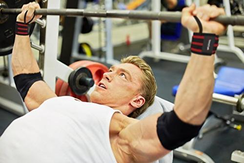 "Rip Toned Wrist 18"" Thumb - Support Men Women - Crossfit, Powerlifting,"