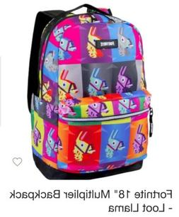 """Fortnite  Loot Llama 18"""" Inch  Backpack ~ Authentic~ Officia"""