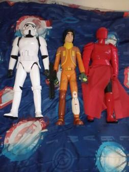 Lot of 3 Star Wars 18 Inch Praetorian Guard Stormtrooper and
