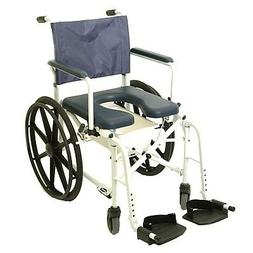 Invacare Mariner Rehab Shower Commode Chair with 18 Inches S