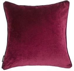McAlister Matt Velvet   Decorative Pillow Cover Case   17x17