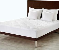 Utopia Bedding Premium Mattress Pad  - Quilted Fitted Mattre