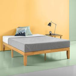 Zinus Moiz 14 Inch Wood Platform Bed / No Box Spring Needed