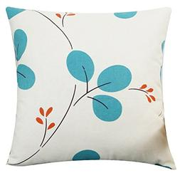 LivebyCare Multi-size Both Sides Leaves Throw Pillow Case Cu