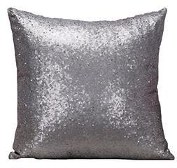 Multi-size Glitter Sequin Stuffed Cushion LivebyCare Satin S
