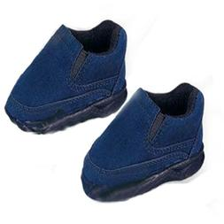 Navy Suede Slip on Shoes Fits 18 inch American Girl Dolls