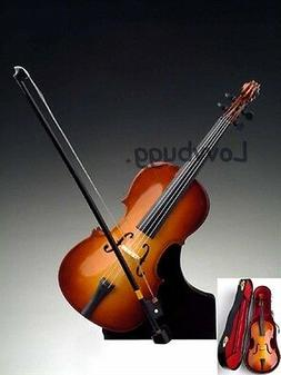 Nicest Wood Miniature Cello Instrument for 18 inch Doll Acce