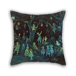 Oil Painting Jerome Myers - Wonderland Pillow Cases Best For
