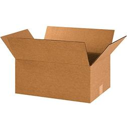 "Partners Brand P18128 Corrugated Boxes, 18""L x 12""W x 8""H, K"