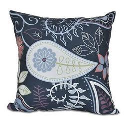 Paisley Print 18-inch Pillow