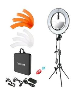 Neewer Photgraphy 18-inch Outer LED Ring Light  Bundle - FRE