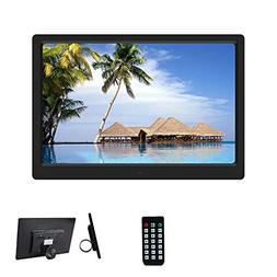GKCD Digital Photo Frame, Multi-Function HD 15-inch Ultra-Th